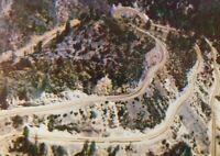 Famous Oak Creek Canyon Switchback Road Sedona Arizona Chrome Vintage Postcard