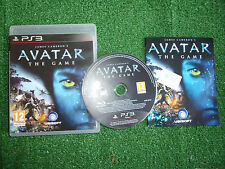 SONY PS3 AVATAR THE GAME +BOX & INSTRUCTIONS / COMPLETE DISC MINT PAL GWO