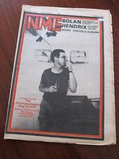 NME 9/29/80 XTC Marc Bolan Jimi Hendrix B52's