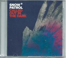 SNOW PATROL Called Out In The Dark RARE DUTCH PROMO ACETATE CD SINGLE