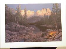 "Kevin Daniel ""Higher Ground"" S/N Ltd Ed Print #18/750"
