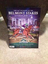 VICTOR ESPINOZA BELMONT STAKES $2 WIN TICKET CALIFORNIA CHROME + PROGRAM 6/7/14