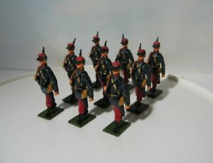 Rose Miniatures of England  French Foreign Legion  WWII Lead Soldiers (9)   54mm