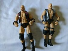 Stone Cold Steve Austin Action Figure Lot Elite And Deluxe Classic