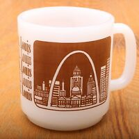St Louis Gateway Arch Souvenir Coffee Mug Cup Missouri Midwest Collectible