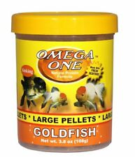 Omega One Large Goldfish Pellets 3.8 oz