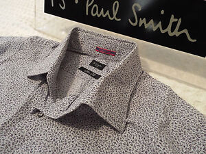 """PAUL SMITH Mens Shirt 🌍 Size 16"""" (CHEST 42"""") 🌎 RRP £95+📮 FLORAL LIBERTY STYLE"""