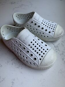 Native Shoes Jefferson Style Children's Size C7 in Shell White -Well-Loved