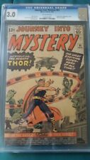 Journey Into Mystery 83 CGC 3.0  1st Appearance of Thor - Avengers Iron Man