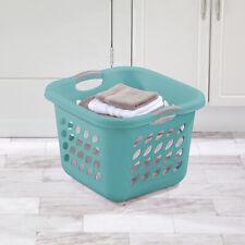 4 PACK Laundry Basket Sterilite 1.5 Bushel Square Storage Hamper Clothes Washing