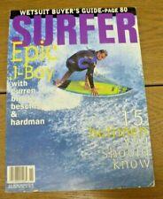 Vintage Surfer Magazine - Epic J-Bay - 15 hellman - November 93 - Vol 34 no. 11