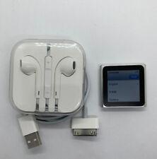 Apple iPod Nano 6. Generation Silber Silver 8GB Watch 6G 6th gebraucht #2 RAR