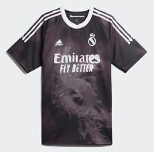 Adidas x Pharrell Williams Human Race Black Real Madrid Jersey Men's L Large NWT
