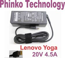 NEW Power Adapter Charger for Lenovo 90W 20V 4.5A Slim Tip Yellow