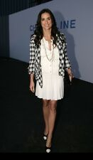 Auth.NWT CHANEL Off White Silk Dress Sz.36 Chanel Lover MUST HAVE!!!