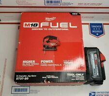 NEW Milwaukee M18 FUEL Brushless Jigsaw Model# 2737-20 +6.0 battery