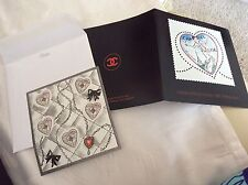 Collector Planche Timbres Poste CHANEL saint Valentin