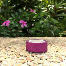 Christmas Rose Glitter Tape - 10 metre rolls -self adhesive great for crafts