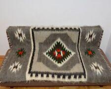 Manta de lana 100% orgánica caliente Manta en la cama lanzar una alfombra en el piso