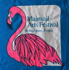 VINTAGE MAINSAIL ARTS FESTIVAL ST. PETERSBURG FL-MADE IN USA-2 SIDED-T-SHIRT-XL