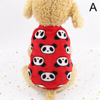 Puppy Sweater Fashion Clothes Pet Dog Fleece Jumper Knitwear Coat Chihuahua US