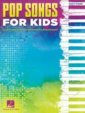 Pop Songs for Kids Sheet Music Easy Piano SongBook NEW 000221920