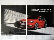 PUBLICITE-ADVERTISING :  PEUGEOT 308 GTi [2pages] 2015 Voitures