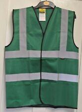 Nouveau Dunlop Homme Gilet de sécurité/gilet Vert Forêt L
