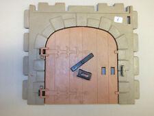 Playmobil Tor für Ritterburg 3666 Bauernhof Fachwerkhaus Türriegel Set 6
