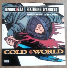 "GZA/Genius - Cold World 12"" vinyl"