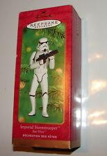 Star Wars Hallmark Ornament Stormtrooper 2000    MIB                  1115