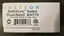 New in box Insteon 2477S SwitchLinc Switch Switch, 17-Amps, White - Quantity 2