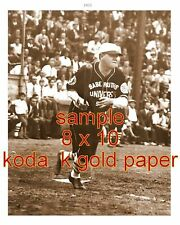BABE RUTH 1926 NY YANKEES SET OF TWO  8 X 10 ON KOD-AK GOLD PAPER PRO LAB 1931