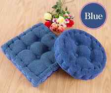 """Made USA 3"""" Thick Corduroy Cushion Pad Seat Chair Patio Car Office- Round/Square"""