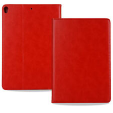 Genuine Leather Wallet Flip Smart Case Cover For iPad 234 / 5 Mini 123 Air 2 Pro