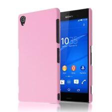 Fundas y carcasas transparente de color principal rosa para teléfonos móviles y PDAs Sony