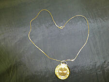 Vintage Swiss Made 2 Tone Anti-magnetic Wind Up GOMA Pendant Watch (Watch Video)