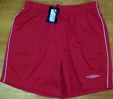 Soccer Shorts Red Umbro Seville Youth size Large New