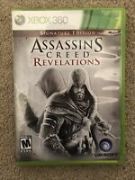 Assassin's Creed: Revelations - Signature Edition Game (Microsoft Xbox 360 2011)