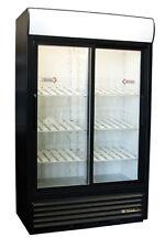 True Gdm-41Sl 2-Door Merchandiser Cooler Refrigerator Free Shipping