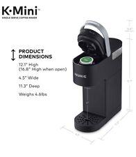 Keurig K-Mini Single Serve K-Cup Pod Coffee Maker - Matte Black