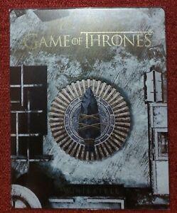 Game Of Thrones Saison 8 - Steelbook Blu-ray + 4k UHD