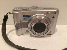 Panasonic Lumix DMC-LZ5 6.0MP Digital Camera Silver TESTED