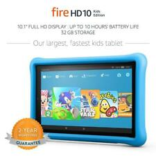 Amazon Fire HD 10 Kids Edition 32GB 10.1in Full HD Display Blue Kid-Proof Case