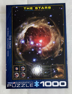 """Eurographics 1000 Piece Puzzle """"The Stars"""" Light Echo From Star V838 Monocerotis"""