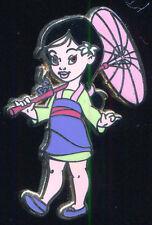 Toddler Princess Mini Pin Boxed Set Mulan Disney Pin 56202