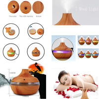 Air Humidifier Essential LED Aroma Oil Diffuser Aromatherapy Air Mist Purifier