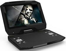 "New Blu-Ray DISC/DVD Player Swivel Screen Maxmade Portable 13.3"" Black BDPM1301"