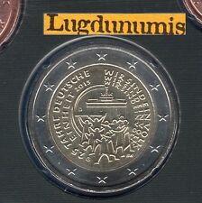 Allemagne 2015 2 Euro G Karlsruhe Réunification FDC du coffret BU 33000 exemplai