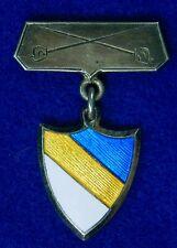 Israeli Israel Jewish Judaica Pre WW2 1930 Enameled Badge Pin Medal Order